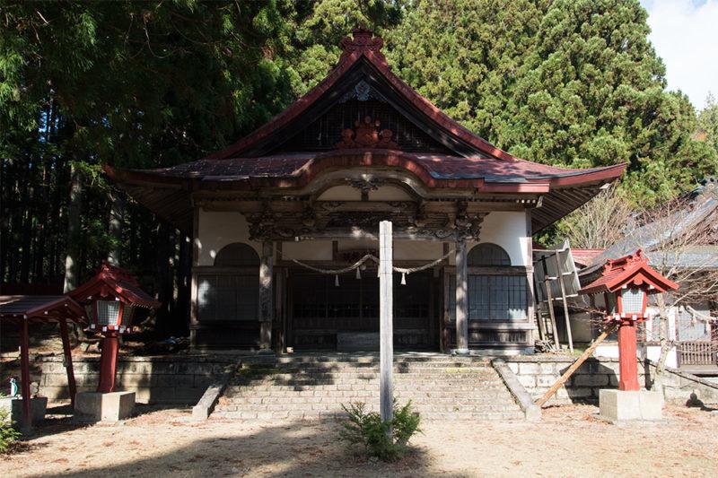 秋葉寺本堂